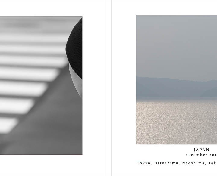 On designing a photobook book